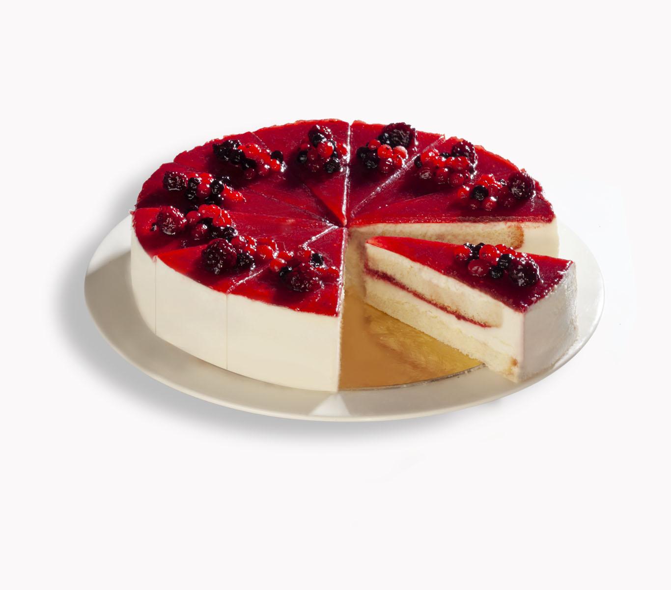 Orman-Meyveli-Pasta